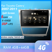 Android 10,0 4G + 64G DSP Auto Radio Multimedia Video Player Für Camry 2007-2011 Navigation GPS 2 din keine dvd