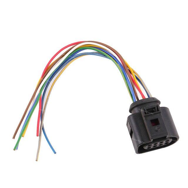 1J0973714 Stecker Auto Elektrische Stecker Kabelbaum 8 Pin Für VW Golf Jetta Passat Für Audi A4 A5 A6 A8 TT Q5 2010