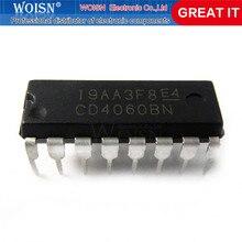 5 pçs/lote CD4060BE CD4060 4060 Ripple Carry Contador Binário IC DIP-16 pinos de Baixa Potência Em Estoque