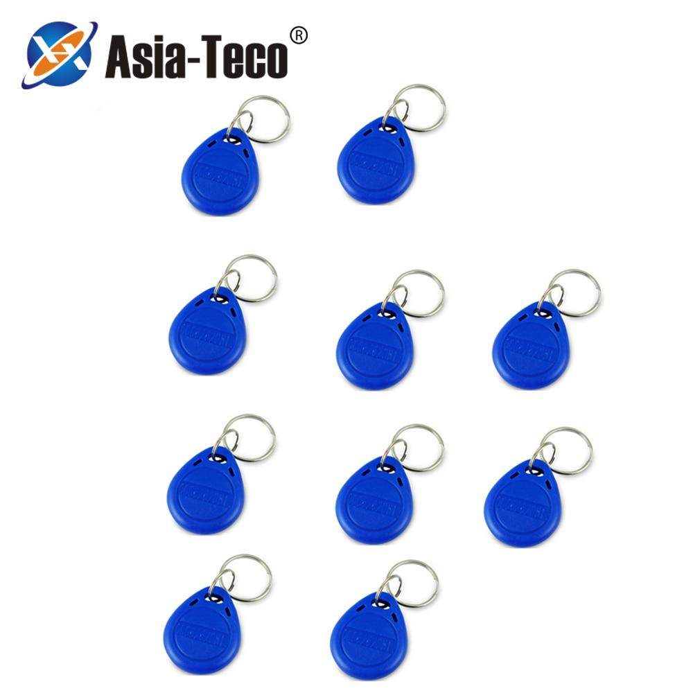 10Pcs/lot Duplicator EM4305 T5577 Clone Proximity Badge Writable Rewrite Copy 125khz RFID Tag Card