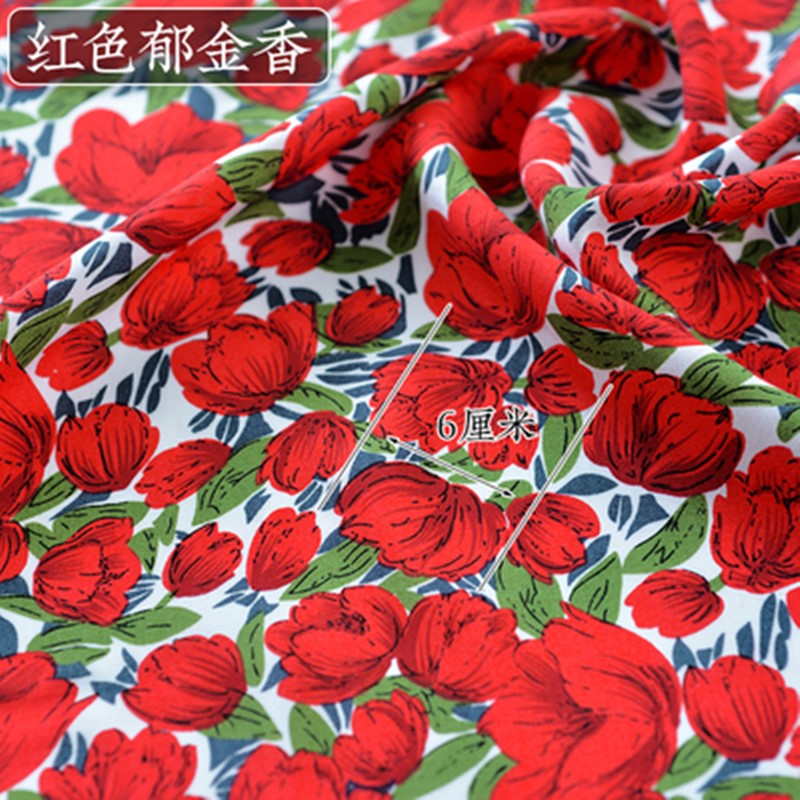 红色郁金香