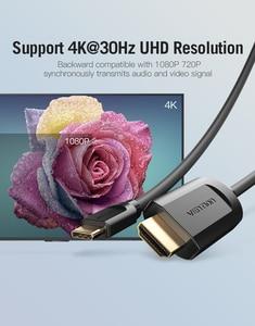 Image 5 - Кабель Vention USB C HDMI 4K Type C к HDMI, адаптер HDMI для Huawei P20 Mate 10 Pro MacBook Pro Air ipad Pro Thunderbolt 3 1 м 2 м
