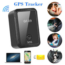 GF09 Anti-lost Locator SOS One Key For Help Wifi+LBS+AGPS APP + Computer Positioning
