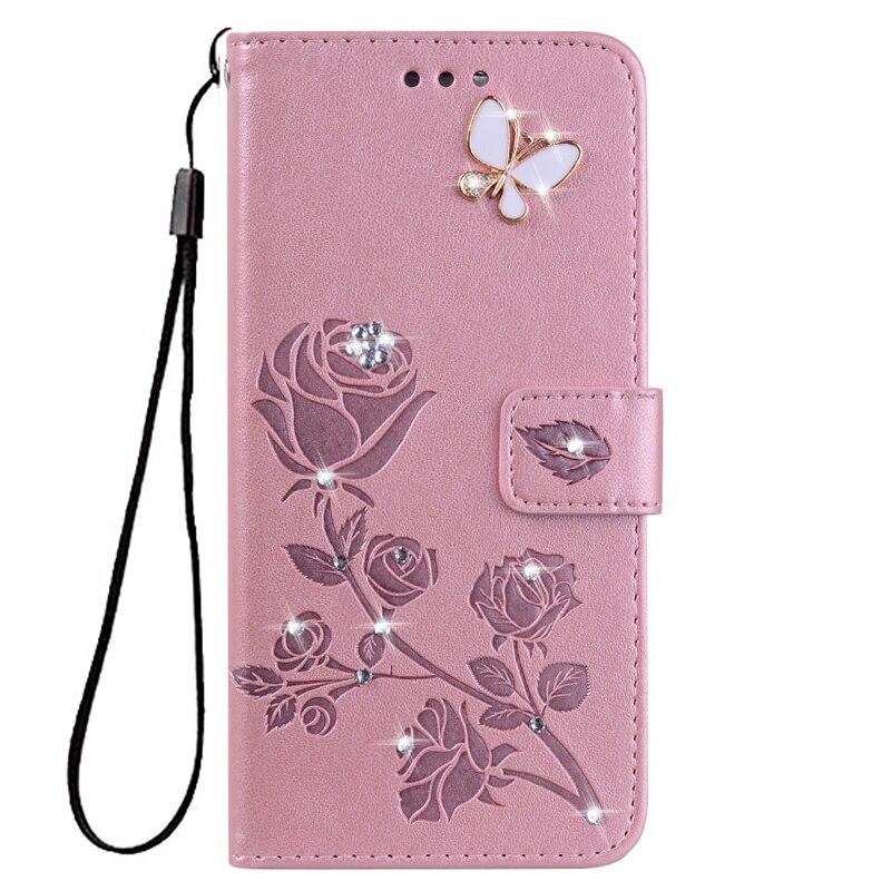 Wallet Cover For LG K3 2017 K4 Lte K5 K7 M1 X220DS Flower Leather Flip Case For LG K8 Plus K9 2018 LV3 Phone Case