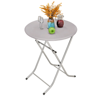 Folding Table Stall Outdoor Dormitory   Portable Small  Simple Home Dining  Round
