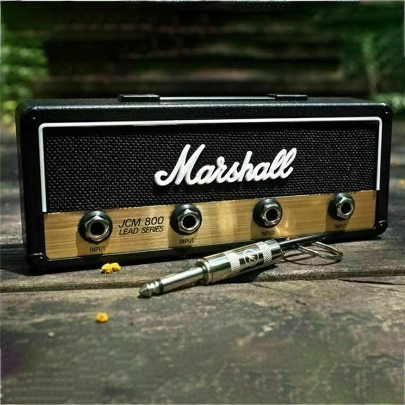 Original Marshall Pluginz Jack II Rack Amp Vintage Guitar Amplifier Key Holder Jack Rack 2.0 Marshall JCM800 Marshall Key Holder