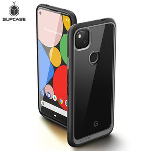 SUPCASE For Google Pixel 4A Case (2020 Release) UB Style Anti-knock Premium Hybrid Protective TPU Bumper Clear PC Back Cover