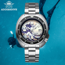 STEELDIVE NH35 Automatic Watch 200m Diver Mechanical Watch Luxury Sapphire Crystal Luminous Driving Watches Men Undefined 2021
