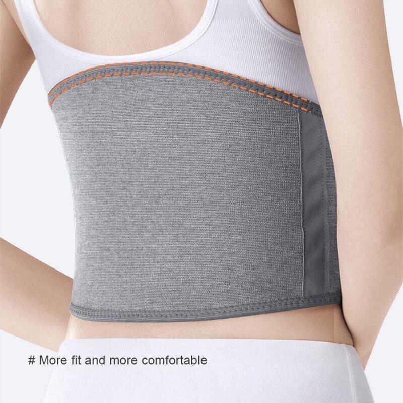 Bamboo Charcoal Waist Support Summer Belly Band Sports Warm Breathable Waist Nuangong Belt Women's Men's Corset Belt Lumbar Supp