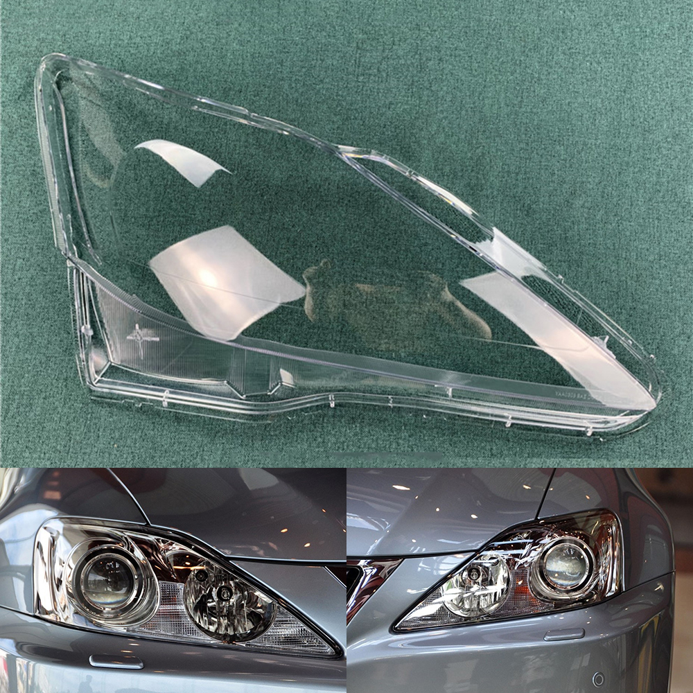 Car Headlight Lens For Lexus IS250 IS300 IS350 2006 2007 2008 2009 2010 2011 2012  Car Headlamp Cover   Auto Shell Cover