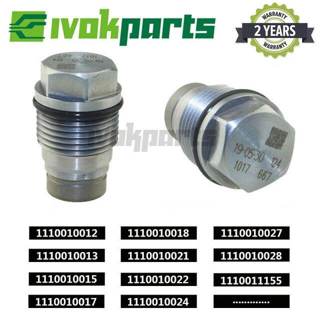 Válvula de alívio pressão hidráulica do trilho combustível limitador para hyundai libero porter H 1 kia sorento 2.5 crdi 1110010017 f00r000741