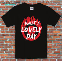 What a lovely day Mad Max Post-Apocalyptic Movie Inspired T-Shirt S-3XL Short Sleeve Cotton T Shirts Man Clothing Solid Color