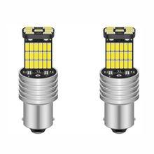 Bombillas LED P21W 1156 BA15S para coche, luces de freno intermitente trasero R5W 4014, 12V CC, DRL para Skoda, 1PCS