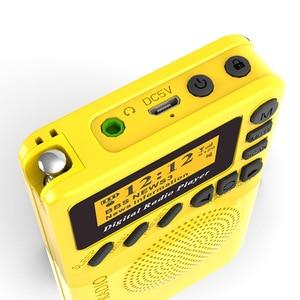 Image 3 - נייד P9 MP3 נגן מיני כיס דיגיטלי DAB רדיו FM ממצת אפנון דיגיטלי עם LCD תצוגת מסך מולטימדיה נגן TF כרטיס