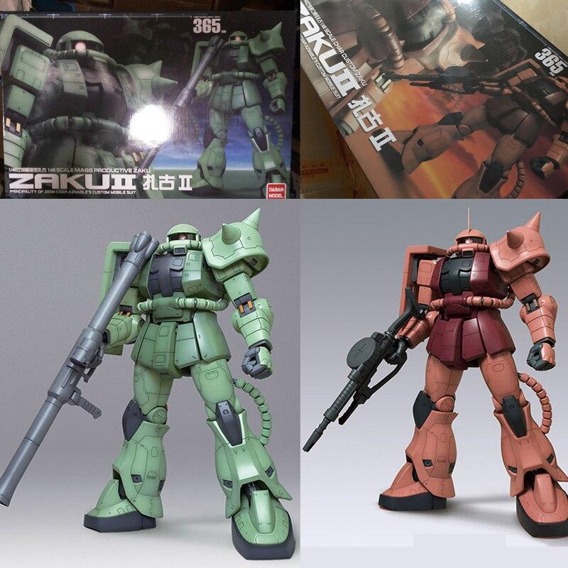 Anime Daban Mobile costume modèle 1/48 Gundam Zaku II Type MS-06F2 cadeau de noël figurine d'action enfants chauds jouets Robot boîte originale