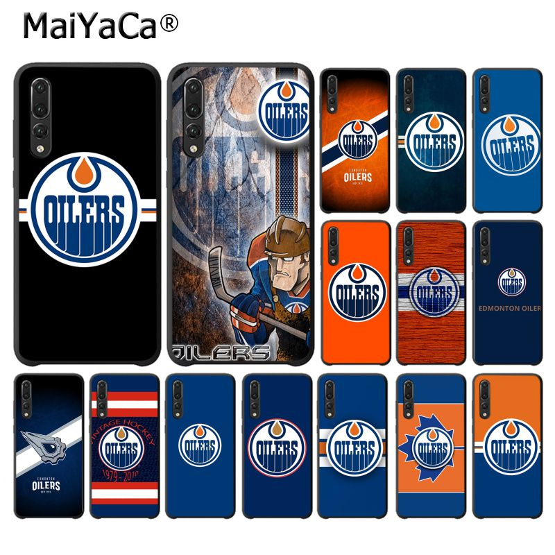 MaiYaCa Edmonton Oilers Customer High Quality Phone <font><b>Case</b></font> for <font><b>Huawei</b></font> <font><b>P10</b></font> plus 20 pro P20 lite mate9 10 lite honor 10 view10 cover image