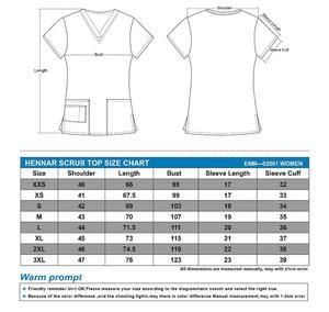 Image 2 - Hennar women scrub uniforms in 100% cotton from size xxs 3xl