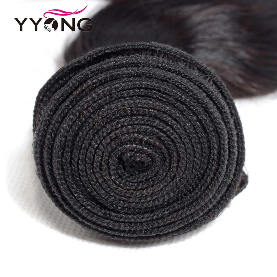 Yyong 3/ 4 Body Wave Bundles With Closure   Bundles With Lace Closure 4x4  Bundle With Closure 4