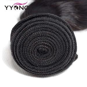 Image 4 - Yyong 3/4 Body Wave Bundles With Closure Brazilian Hair Weave Bundles With Lace Closure 4x4 Remy Human Hair Bundles With Closure