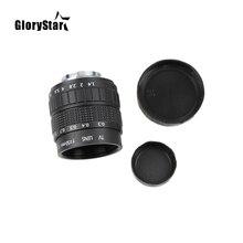 Glorystar lentes para filmes, 50mm f1.4 cctv lentes + suporte c + anel macro para samsung nx câmera nx1000 nx210 nx20 nx200 nx11 nx100/nx5/nx10