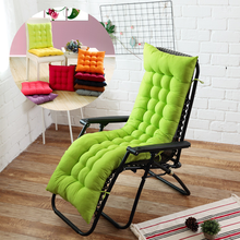 Long cushion Recliner chair Cushion Thicken Foldable Rocking Chair Cushion long Chair Couch Seat Cushion Pads Garden Lounger mat