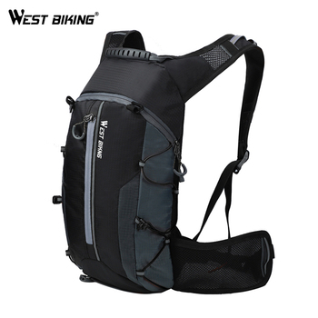 WEST BIKING Waterproof Bicycle Bag Reflective Outdoor Sport Backpack Mountaineering Climbing Travel Hiking Cycling Bag Backpack