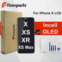 Grade AAA Oled Amoled LCD For iphone X XS Display Touch Screen Digitizer Replacement Full Assembly for iPhone x lcd With Gift