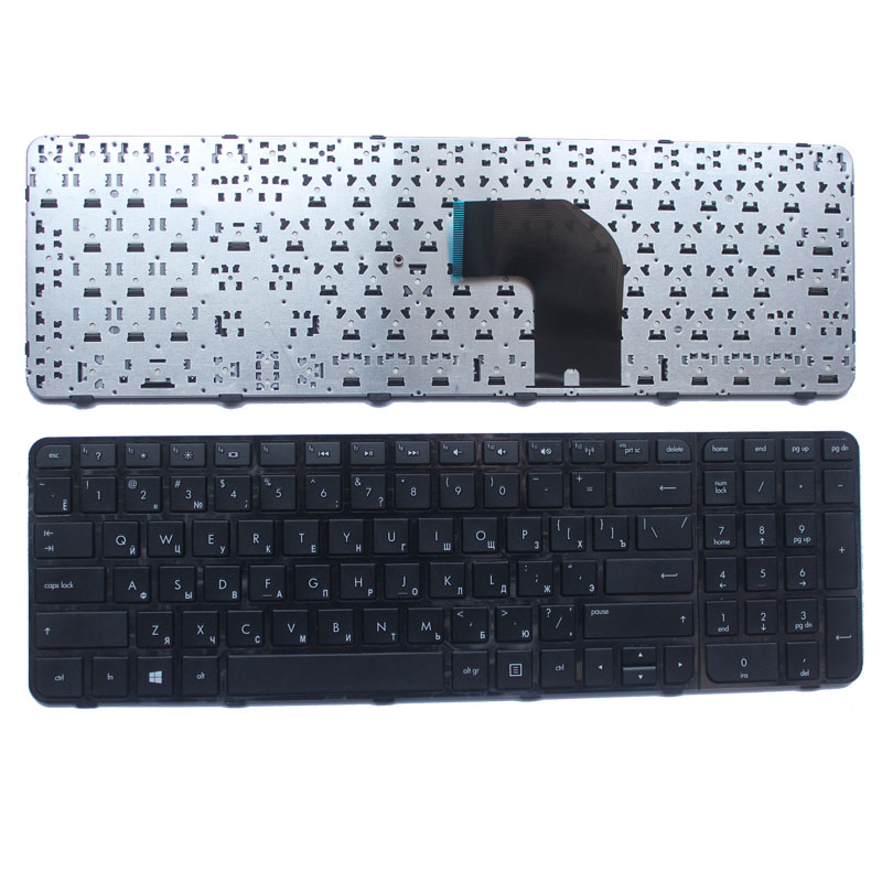 Russian Laptop Keyboard For HP Pavilion AER36701110 MP-11M83SU-920W AER36700110 MP-11M83SU-920 AER36700210 2B-04816Q110 Black