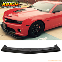Fit For 2010-2013 11 12 Chevy Camaro V8 Z28 Look Style Front Bumper Lip Lower Spoiler Urethane PU