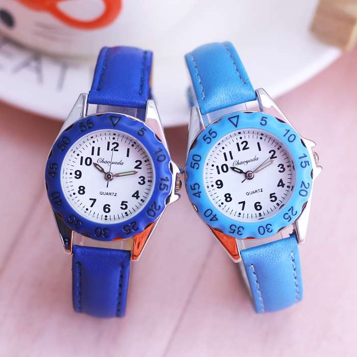 New Style Famous Brand Children Boys Girls Cute Colorful Dial Digital Quartz Watches Students Little Kids Toy Electric Watches