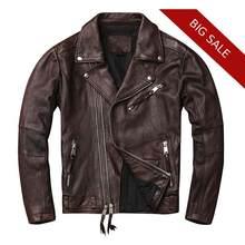 Najlepsza wartość Dark Brown Coat Men świetne oferty na