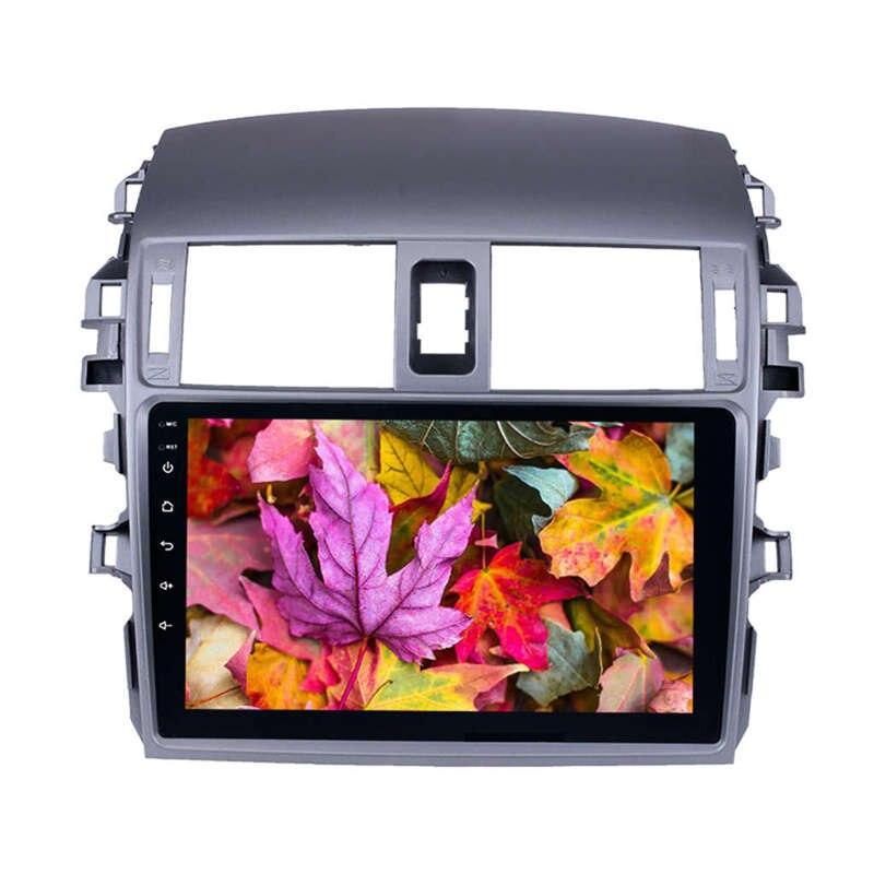 Android 8.1 2 Din autoradio Wifi Bluetooth lecteur multimédia 4 coeurs Navigation Gps pour Toyota Corolla 2008 2009 2010 2011 2012 2