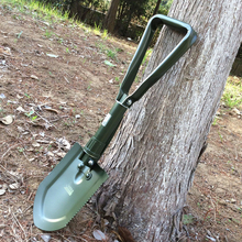 Military Tactical Camping Shovels Outdoor Portable Folding  Fishing Shovel Wild Survival Tool Emergency Tools