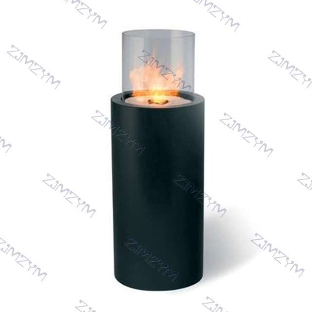 AMT-916-1 Outdoor Round Patio Fireplace Heater  4