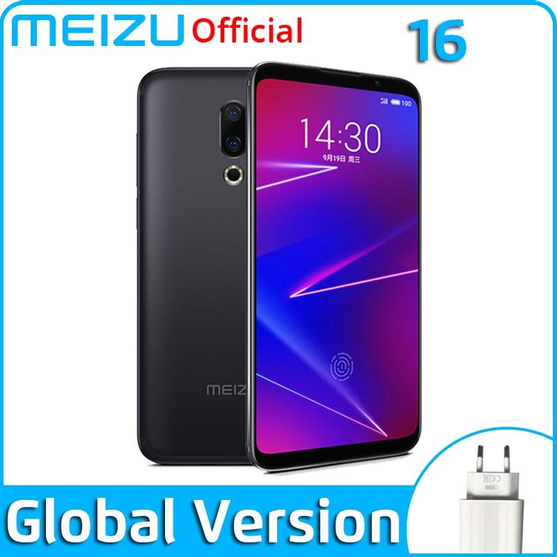 Meizu 16 смартфон с восьмиядерным процессором Snapdragon 710, ОЗУ 6 ГБ, ПЗУ 64 ГБ, 20 МП, 3100 мАч
