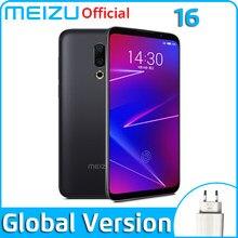 Meizu 16 6gb 64gb versão global smartphone snapdragon 710 octa núcleo do telefone móvel frente 20mp 3100mah impressão digital na tela