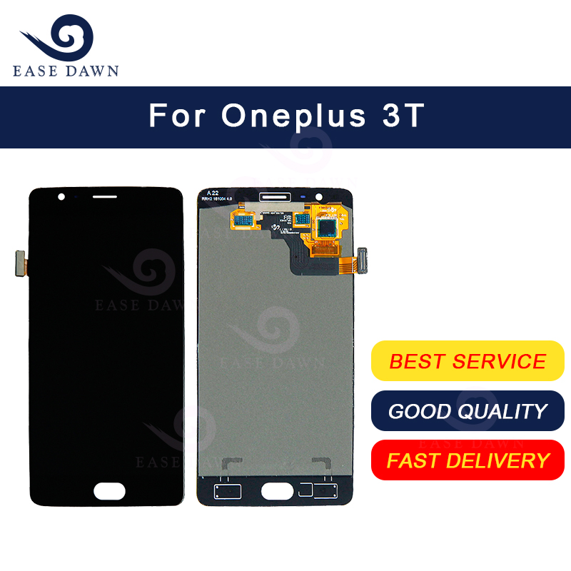 For Oneplus 3T  LCD AMOLED Display Screen Touch Digitizer Assembly For Oneplus Display Original-in Mobile Phone LCD Screens from Cellphones & Telecommunications