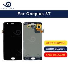 ل Oneplus 3T LCD AMOLED شاشة عرض مجموعة رقمنة اللمس ل Oneplus عرض الأصلي