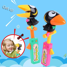 Children Audio Recording Animal Toys Creative Talking Impersonators Toy Electric Talking Toucan Kids Birthday Gift Unusual Gifts