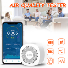 Monitor Household Formaldehyde-Detector Temperature Intelligent Air-Quality High-Sensitive
