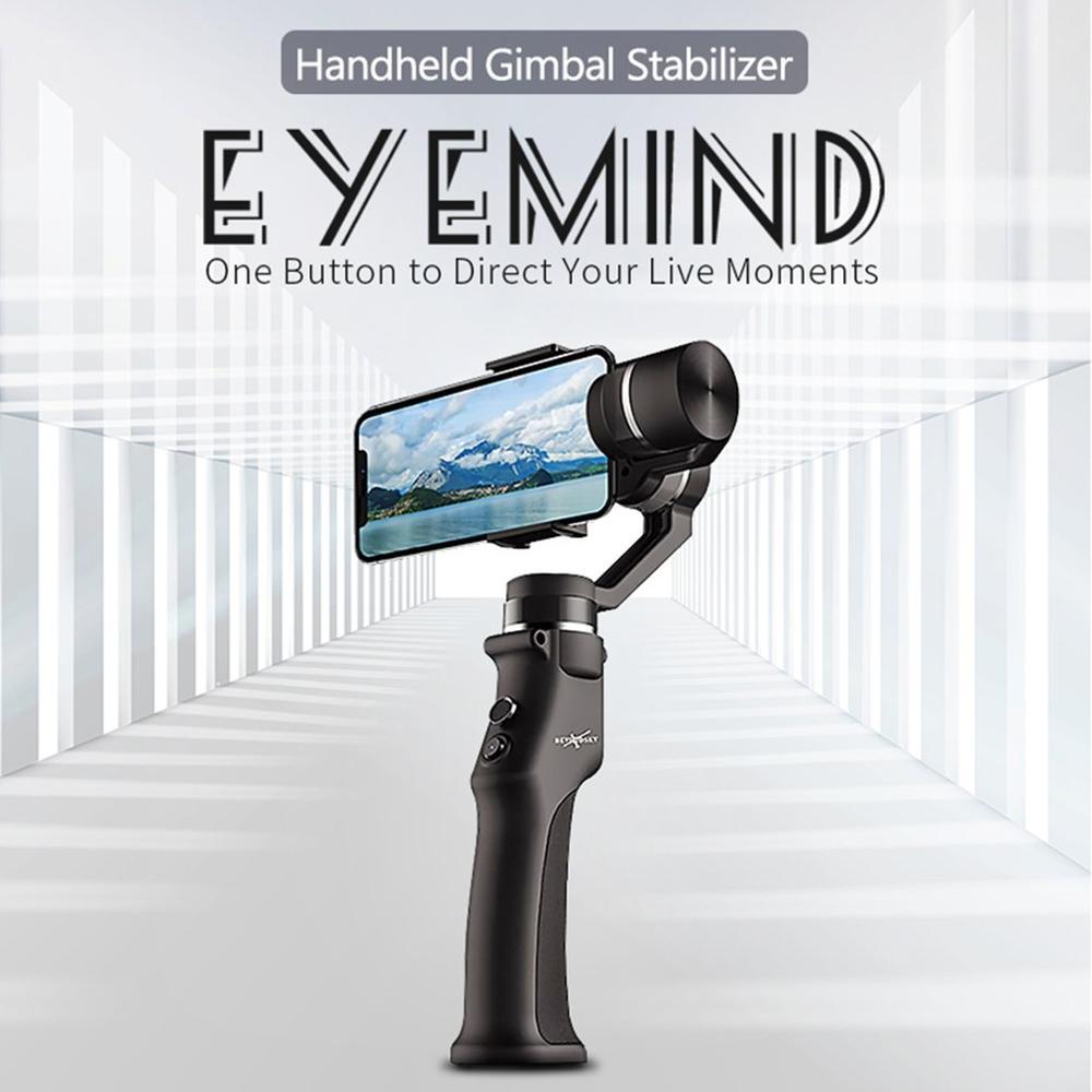 Eyemind stabilisateur de cardan portable 3 axes intégré Panorama de suivi du visage pour téléphone Mobile intelligent iPhone Android