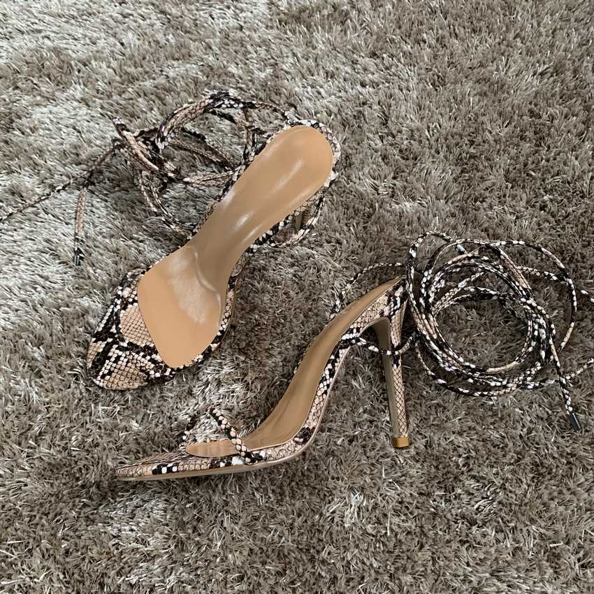 11CM siyah deri gladyatör ayakkabı kadın yaz partisi yüksek topuklu sandalet kadın pompa ayakkabı elbise ayak bileği kayışı yüksek topuk pompaları