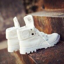 Женские уличные Ботинки martin на платформе с высоким берцем тканевые ботинки для влюбленных пар Женские рабочие ботинки в стиле ретро обувь с низким берцем в стиле Паладин
