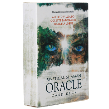 Oracle Tarotl Mystical Shaman Oracle Cards Oracle Card Board Deck Games Palying Cards for Party Game Birthday Gifts