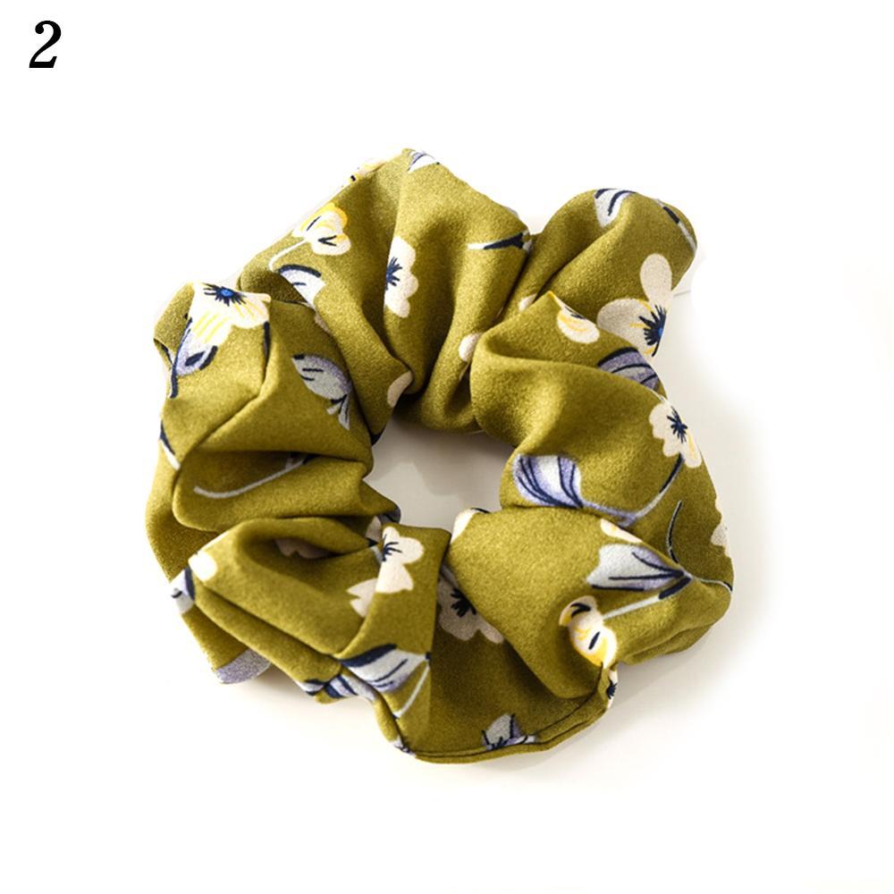 Корейский женский ободок для волос для девочек, полосатые женские резинки для волос, конский хвост, Женский держатель, веревка с ананасовым принтом, аксессуары для волос - Цвет: w2