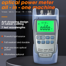 AUA 9A All IN ONE Optical Power Meter with Visual Fault Locator optical fiber tester 5KM 10km 20KM 30km VFL 1/10/20/30MW