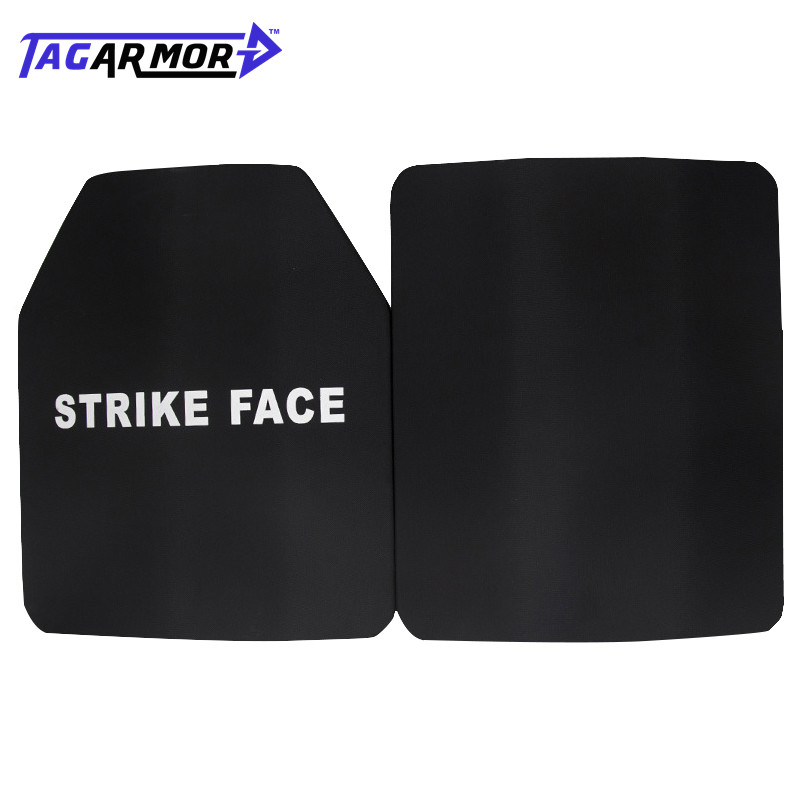 2pcs/lot 25*30cm NIJ IV Military Application Bulletproof Steel Plate Steel Ballistic Armor Plate Armor Steel Plate