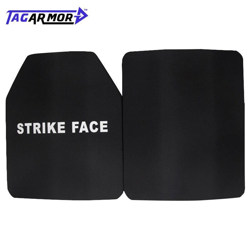 2pcs/lot 25*30cm NIJ IV Military Application Bulletproof Steel Plate Steel Ballistic Armor Plate Armor Steel Plate