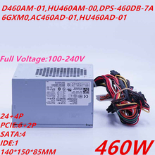PSU Power-Supply Dell New 4 for XPS 8000/8100/8300/.. D460am-01/Hu460am-00/D460am-03/..