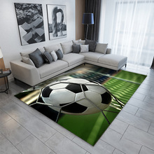 Rugs Football-Carpet Bathroom-Mat Living-Room Home-Decor Soccer-Printing Kitchen Large